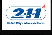 United Way 211 logo